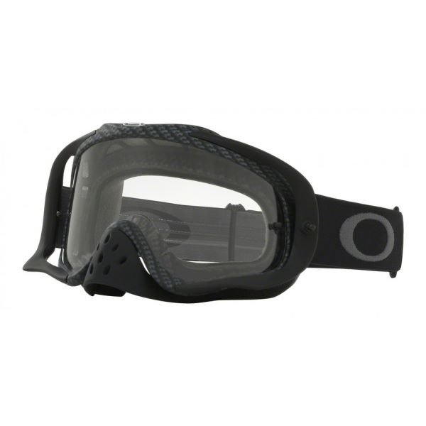 Crowbar MX Goggle True Carbon Clear Lens