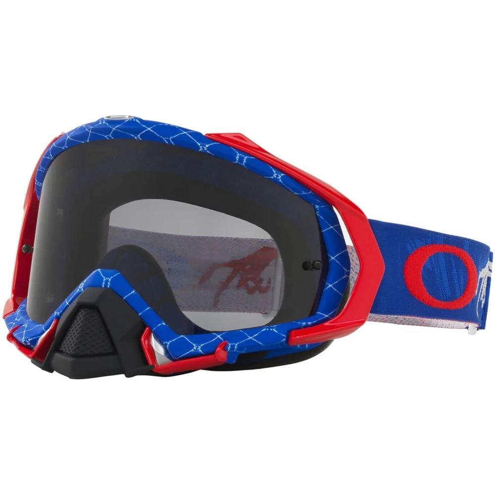 Mayhem Pro MX Goggle Reaper RWB Dark Grey Lens Oakley Goggles