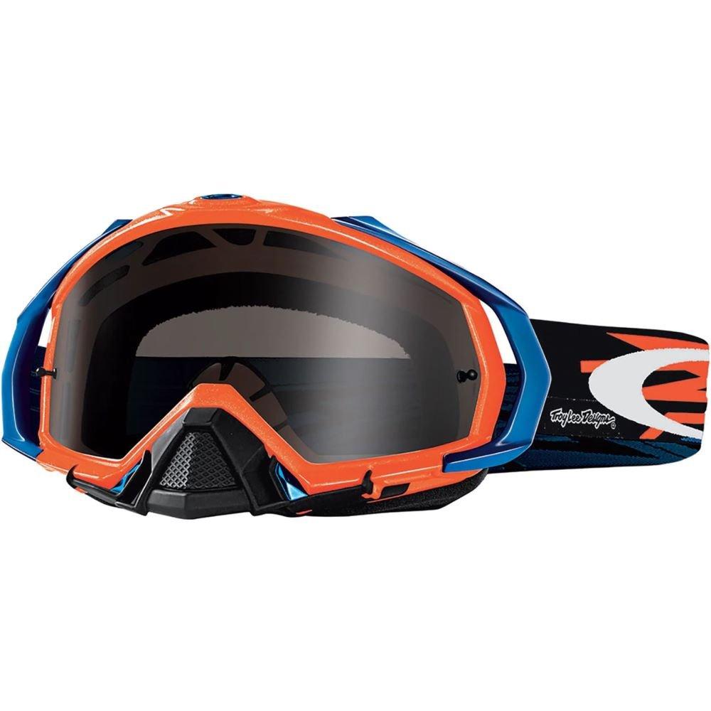 Mayhem Pro MX Goggle TLD Zap Orange Dark Grey Lens Oakley Goggles