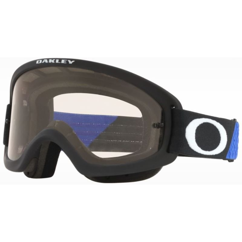 O Frame 2 Pro Youth MX Goggle Heritage B1B Blue Black Clear Oakley Goggles