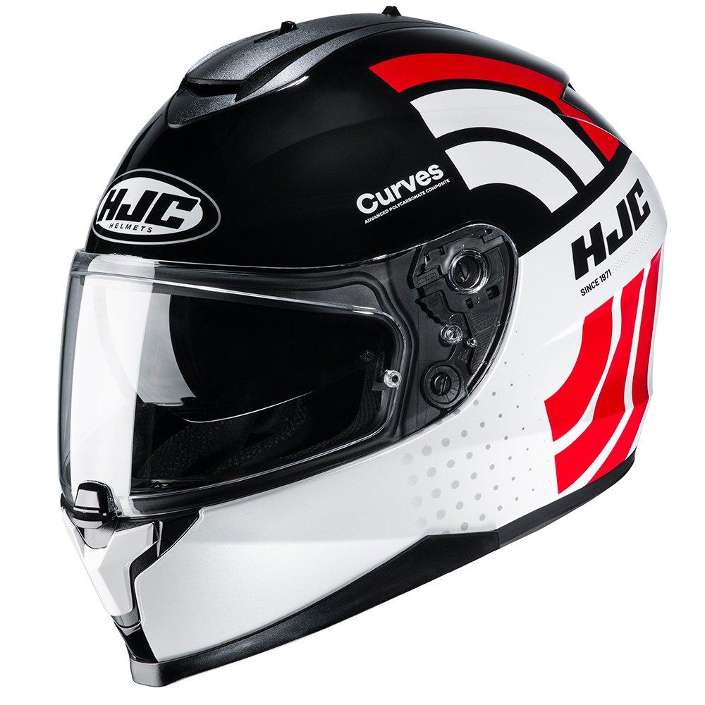 C70 Curves Helmet Red