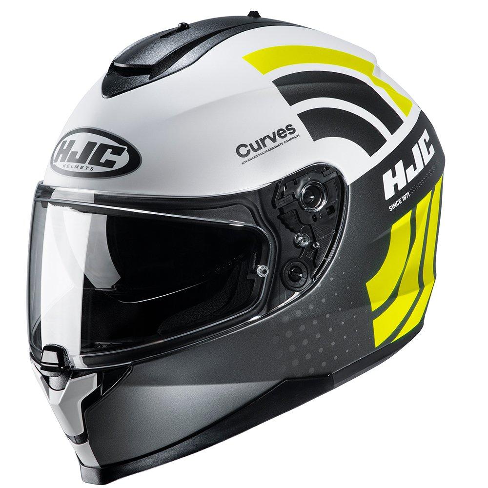C70 Curves Helmet Yellow