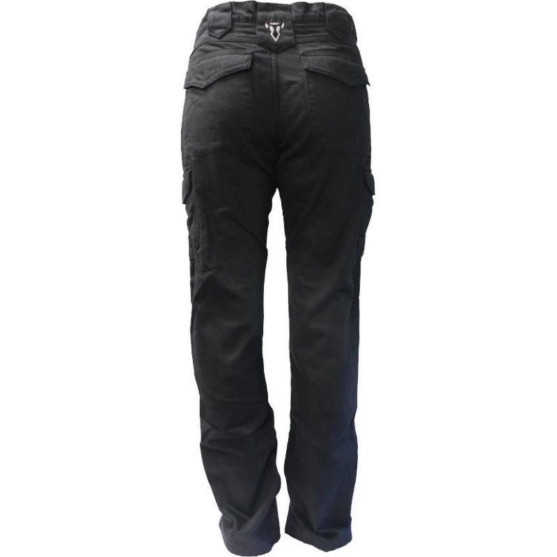 Bull-It SR6 Ladies Cargo Easy Jeans Black Size: Ladies UK - 10 Fit: Short