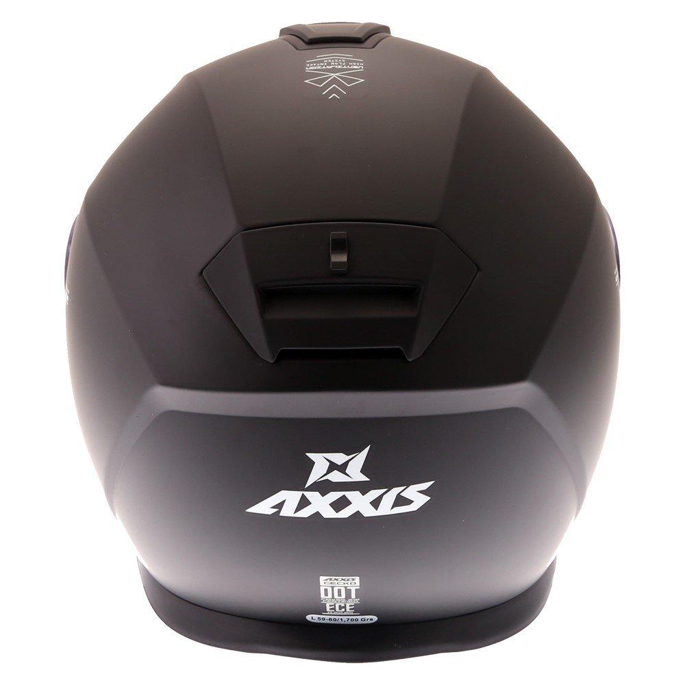 Axxis Gecko Helmet Matt Black Size: S