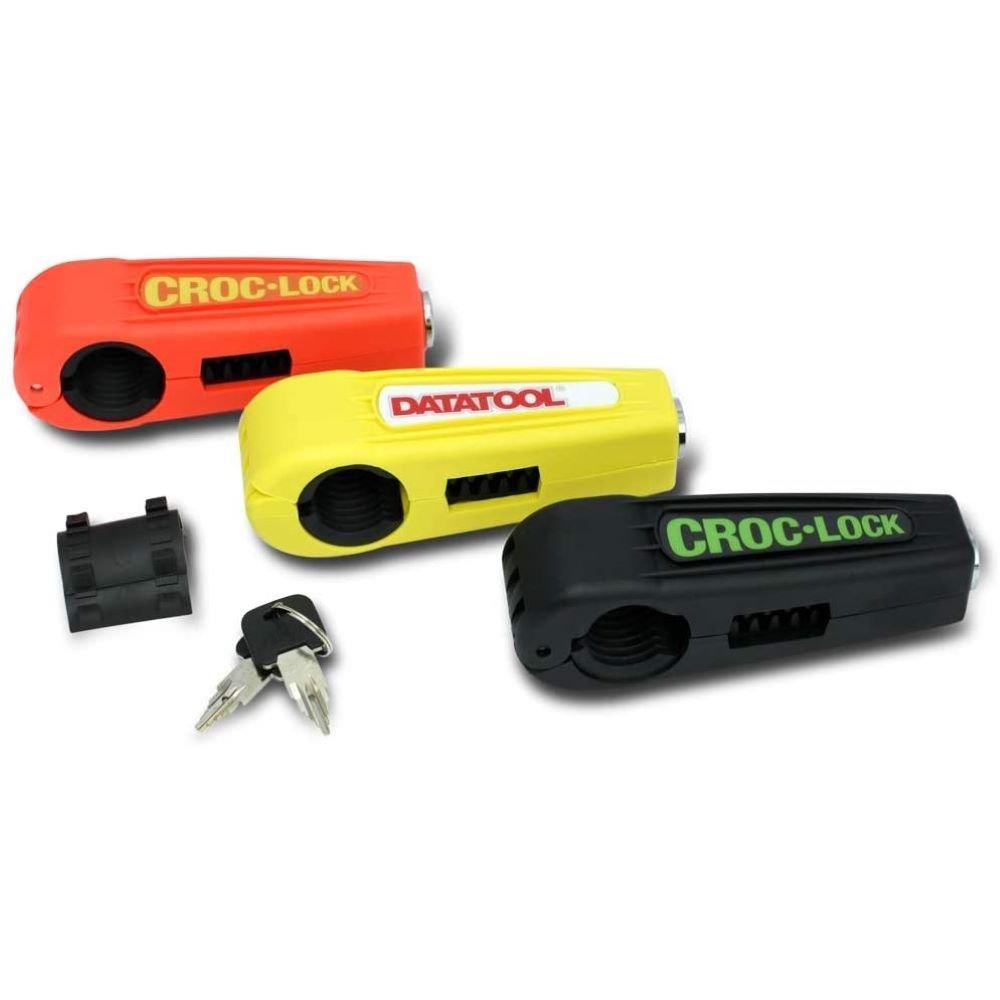 Datatool Croc-Lock Handle Bar Lock Orange Orange