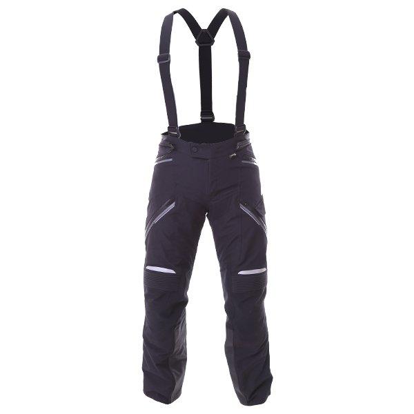 Alpinestars Big Sur Pro Mens Black Goretex Waterproof Textile Motorcycle Pants Front