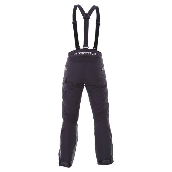 Alpinestars Big Sur Pro Mens Black Goretex Waterproof Textile Motorcycle Pants Rear