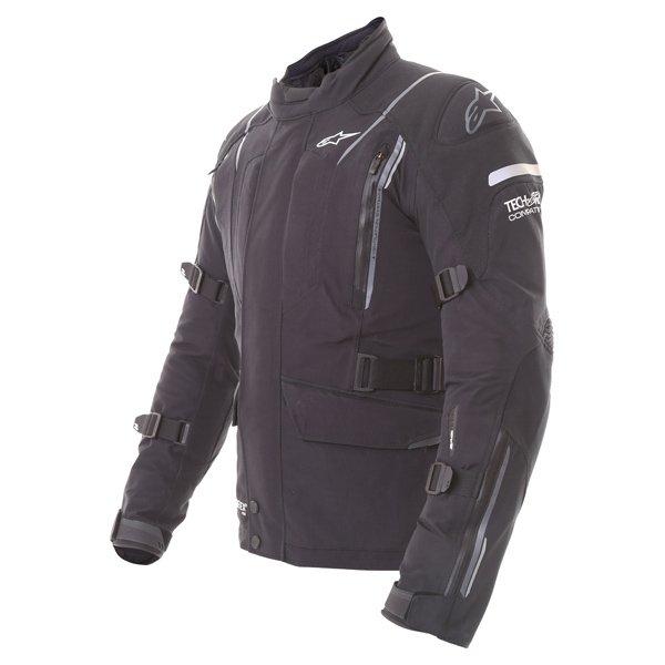 Alpinestars Big Sur Tech Air Gore-Tex Black Waterproof Motorcycle Jacket Side