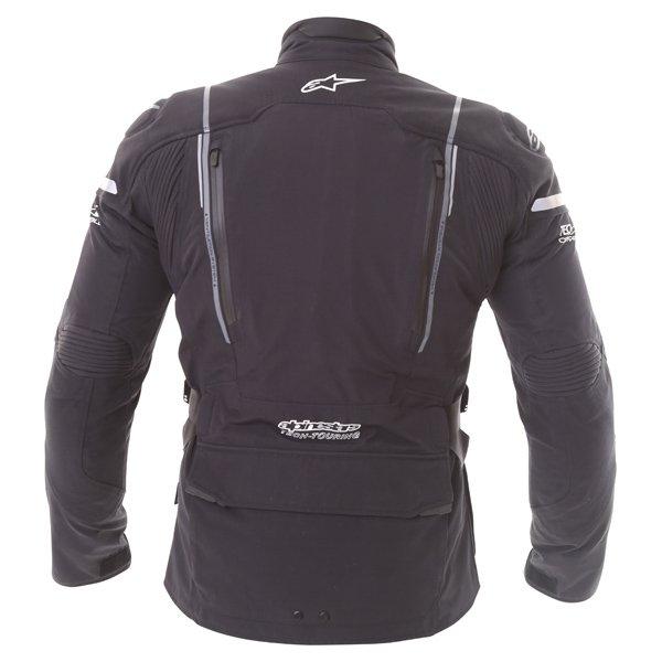 Alpinestars Big Sur Tech Air Gore-Tex Black Waterproof Motorcycle Jacket Back