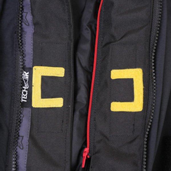 Alpinestars Big Sur Tech Air Gore-Tex Black Waterproof Motorcycle Jacket Detail