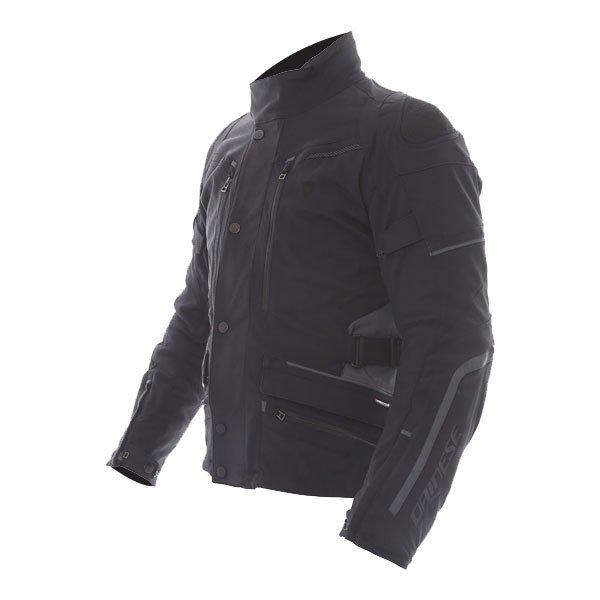 Dainese Carve Master 2 Mens Black GoreTex Waterproof Textile Motorcycle Jacket Side