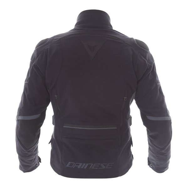 Dainese Carve Master 2 Mens Black GoreTex Waterproof Textile Motorcycle Jacket Back