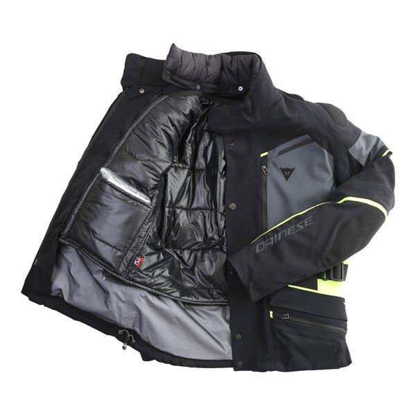Dainese Carve Master 2 Goretex Jacket Black Yellow Mens - 34
