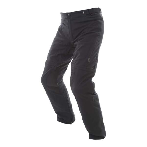 Dainese Carve Master 2 Mens Black Goretex Waterproof Textile Motorcycle Pants Riding position
