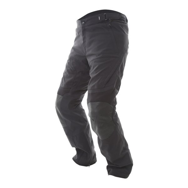 Dainese D-cyclone Mens Black Goretex Waterproof Textile Motorcycle Pants Riding position