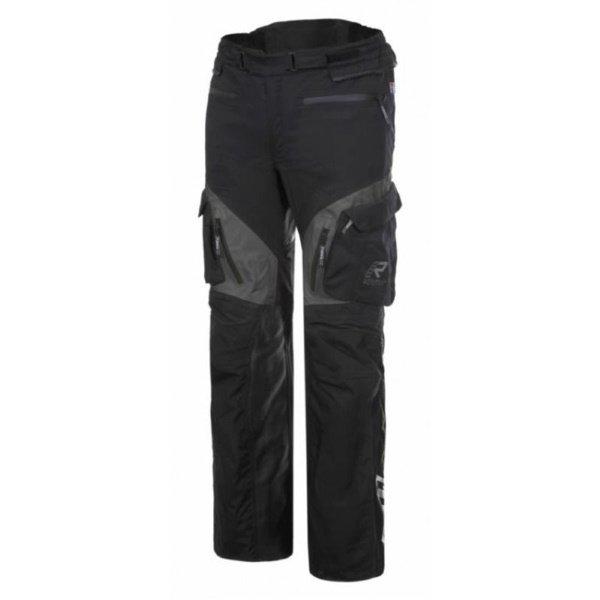 Overpass Pants Black Grey Rukka Clothing
