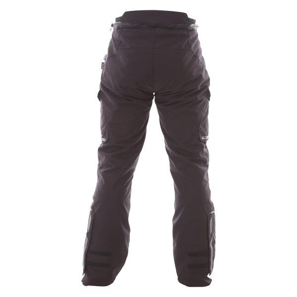 Bering Shield Goretex Black Waterproof Motorcycle Pants Rear
