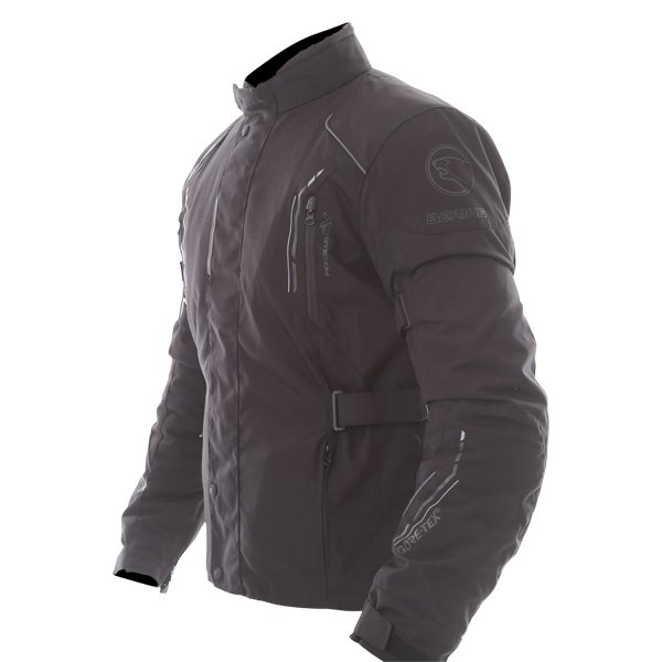 Bering Stomp Goretex Black Waterproof Motorcycle Jacket Side