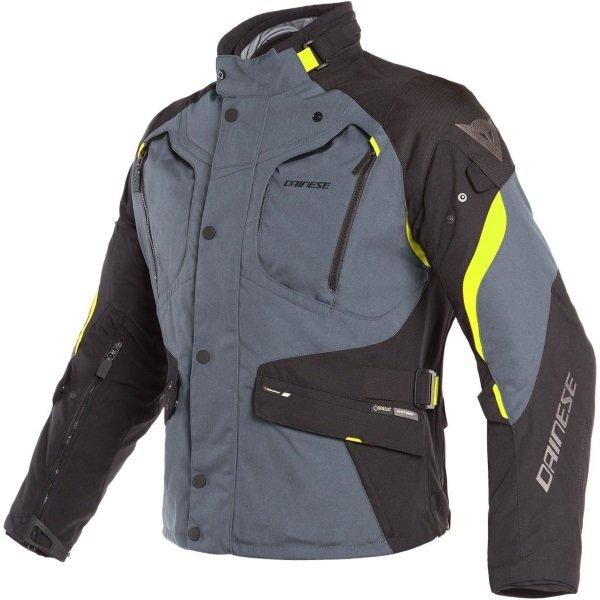 Dolomiti Goretex Jacket Black Yellow