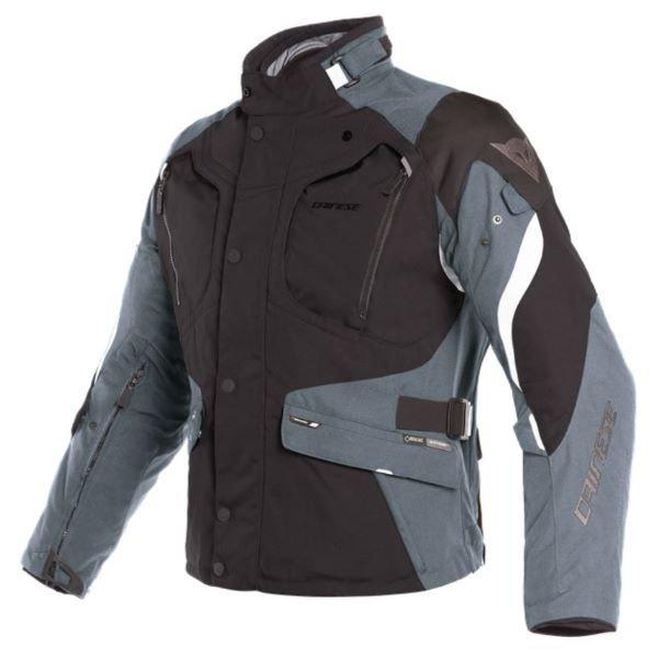 Dolomiti Goretex Jacket Black Ebony Light Grey