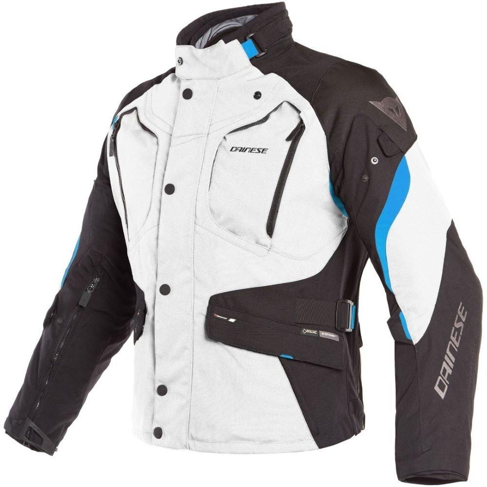Dolomiti Goretex Jacket Light Grey Black Electron Blue