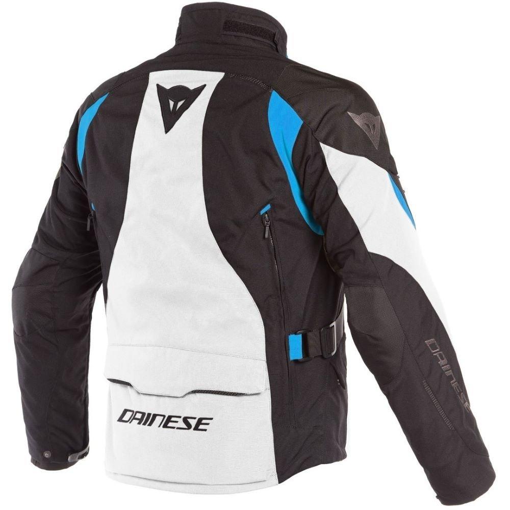 Dainese Dolomiti Goretex Jacket Light Grey Black Electron Blue Size: Mens UK - 38