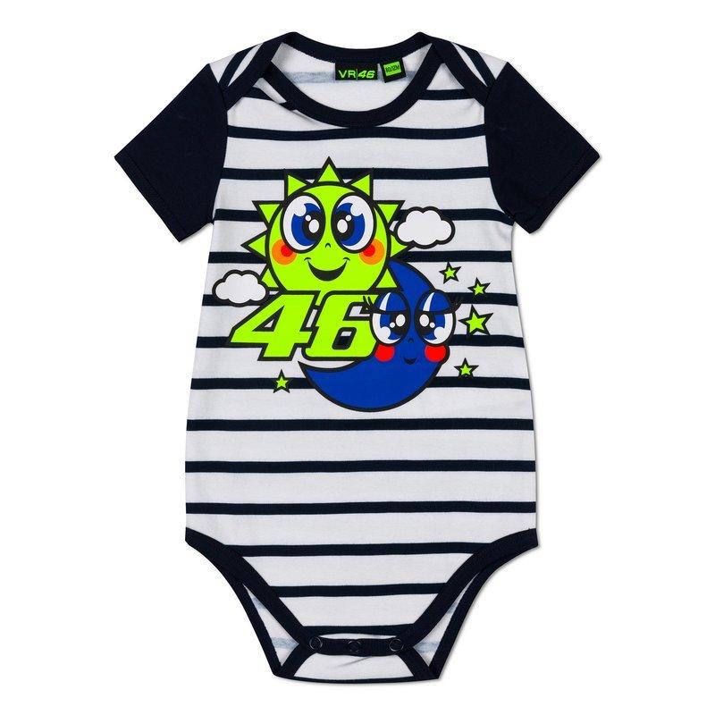 Baby Body Vest Sun & Moon Clothing