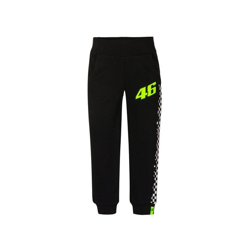 Pants Race Black Clothing