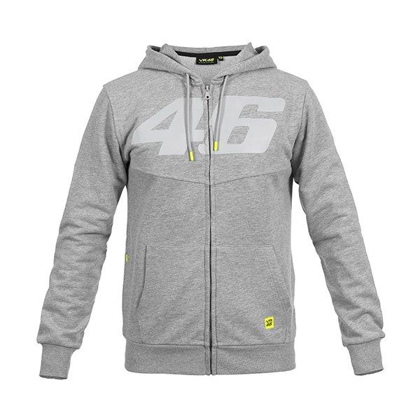 Binder Full Zip Hoodie Grey Clothing