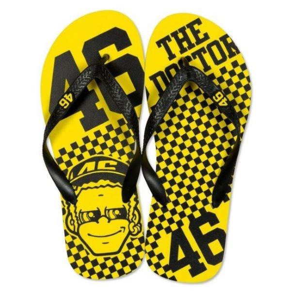 Dottorone Sandals Yellow Black VR46