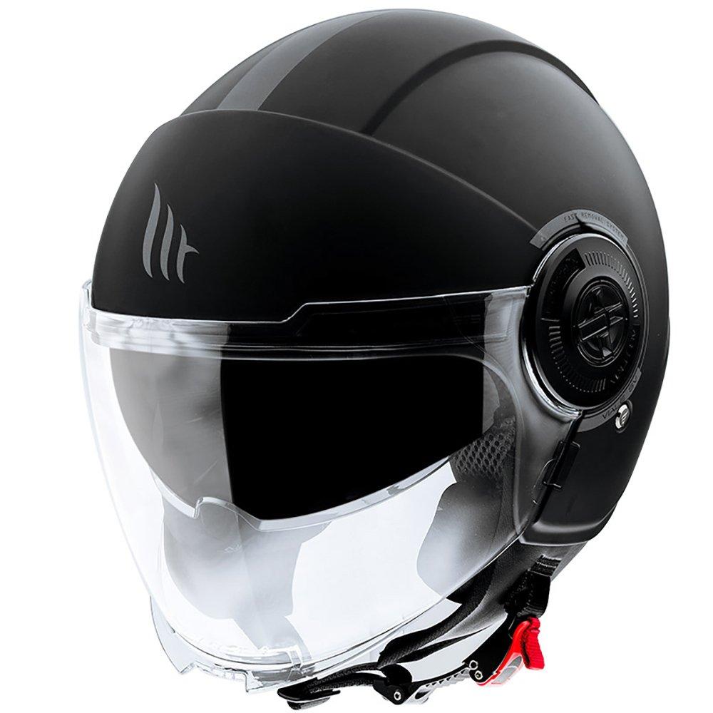 Viale Helmet Matt Black MT Helmets