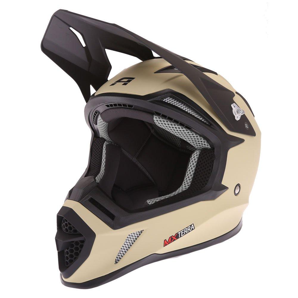 Akito MX Terra Helmet Matt Sand Size: XS