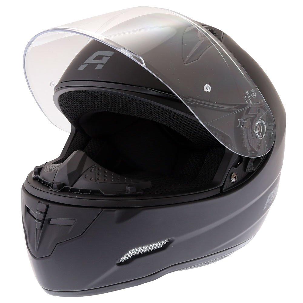 Akito Street Helmet Matt Black Size: XS