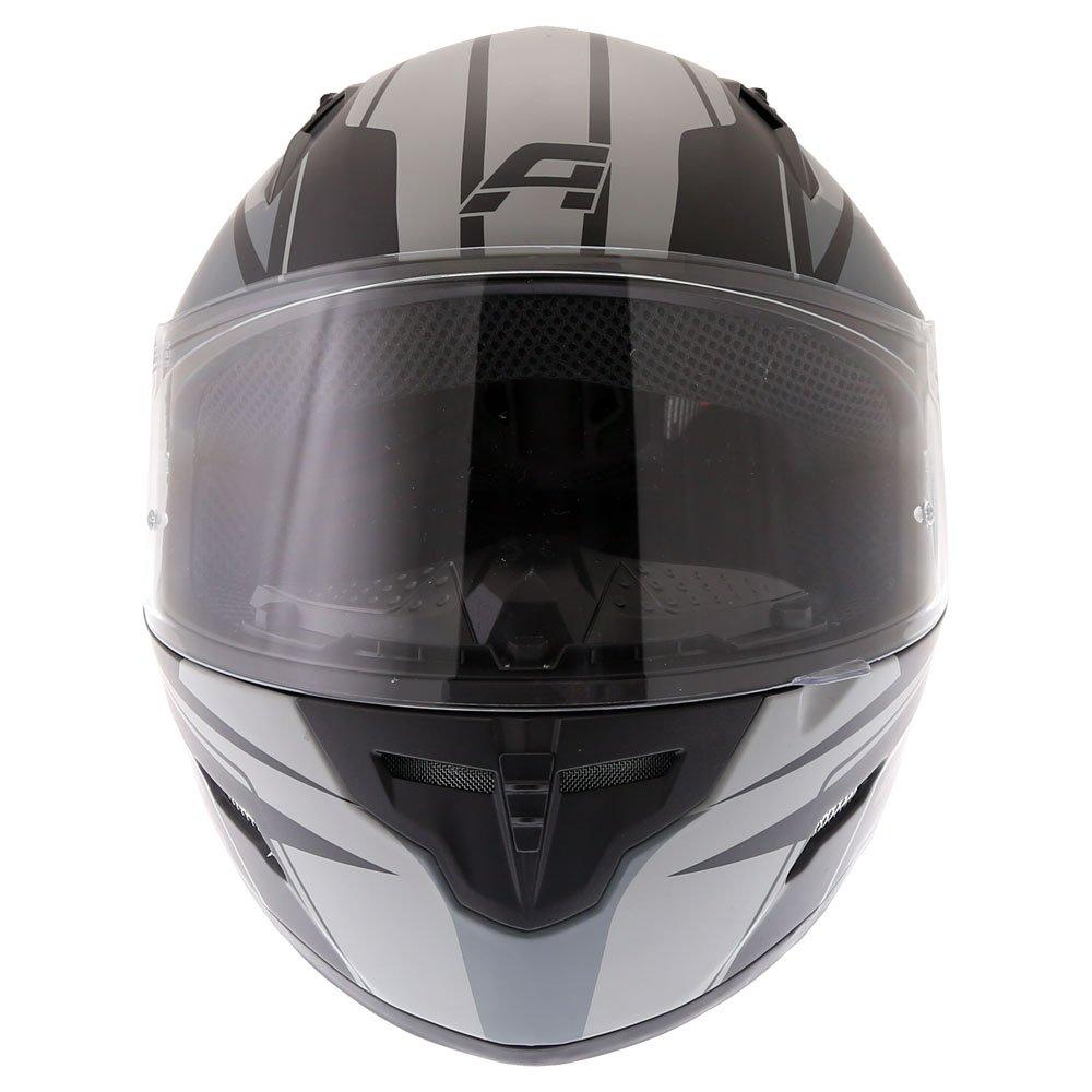 Akito Street Helmet Matt Black Gun Size: XS