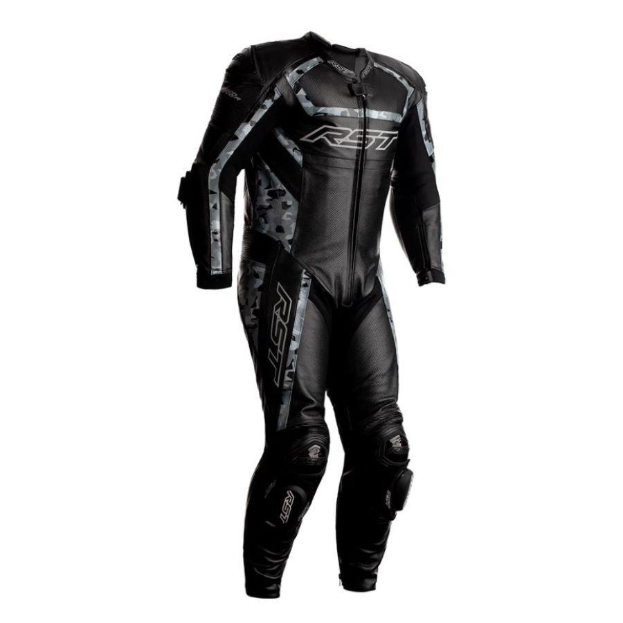 Tractech Evo R Suit Black Camo Leather Suits