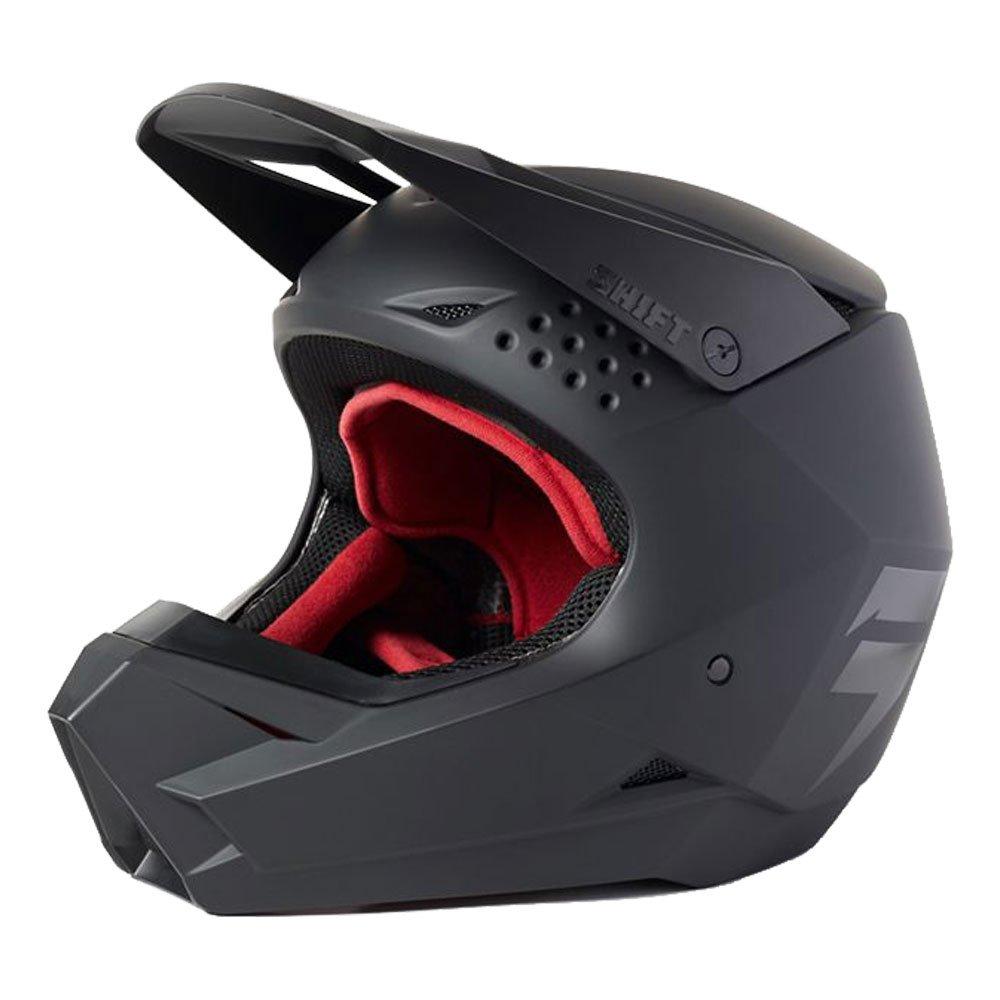 White Label Blac Youth Helmet Matt Black Kids Motocross Helmets