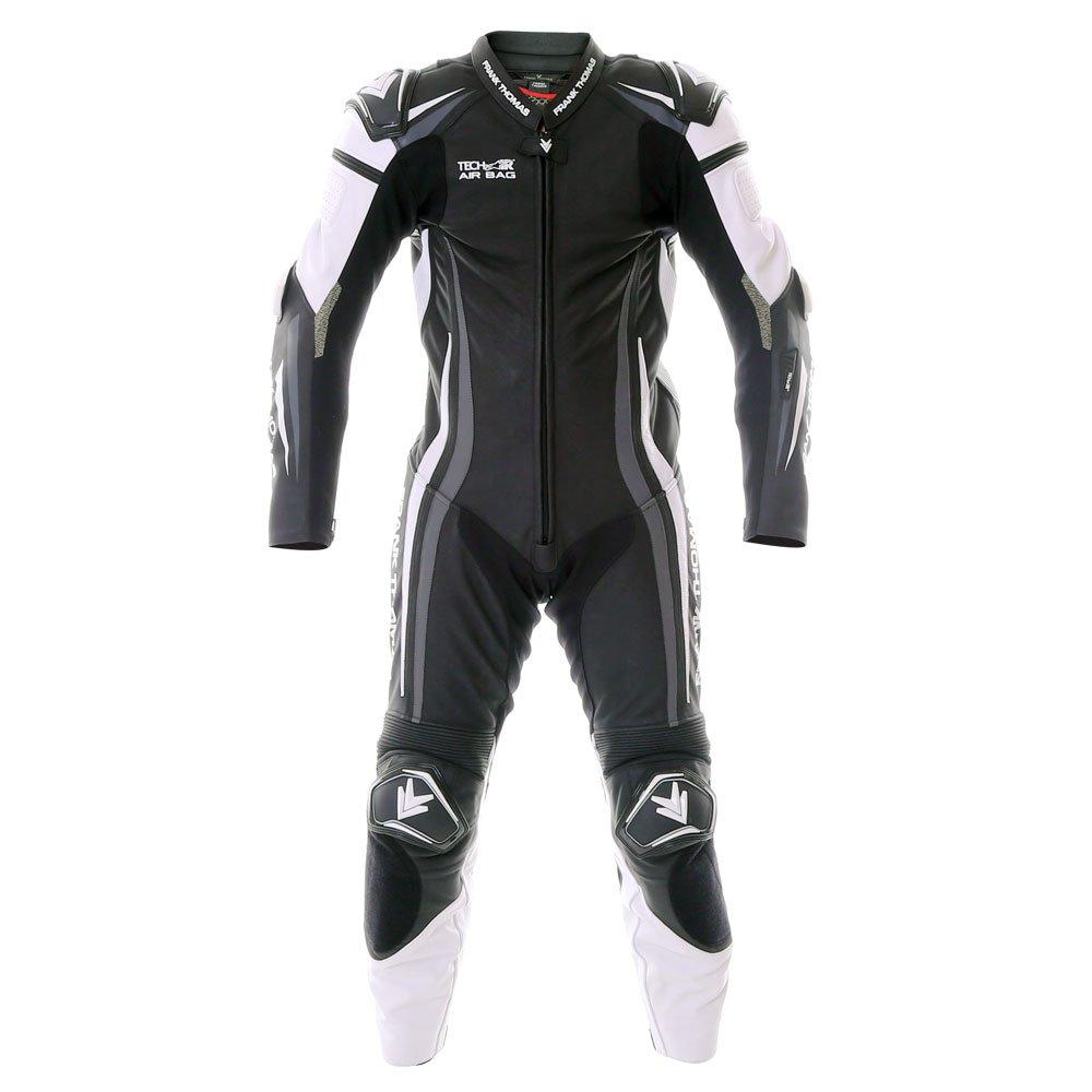 Podium 1pc Suit Black Leather Motorcycle Suits