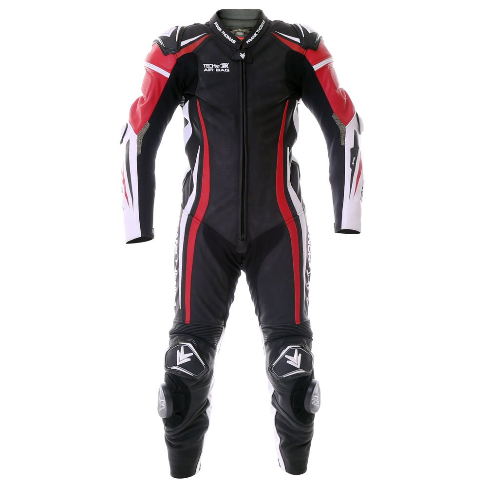 Podium 1pc Suit Red Leather Motorcycle Suits