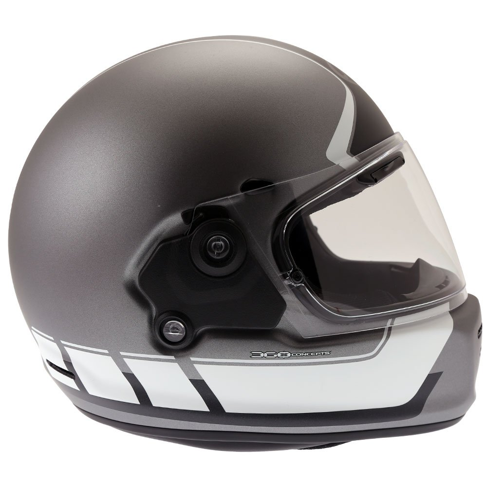Arai Rapide Speedblock Helmet Black White Size: XS
