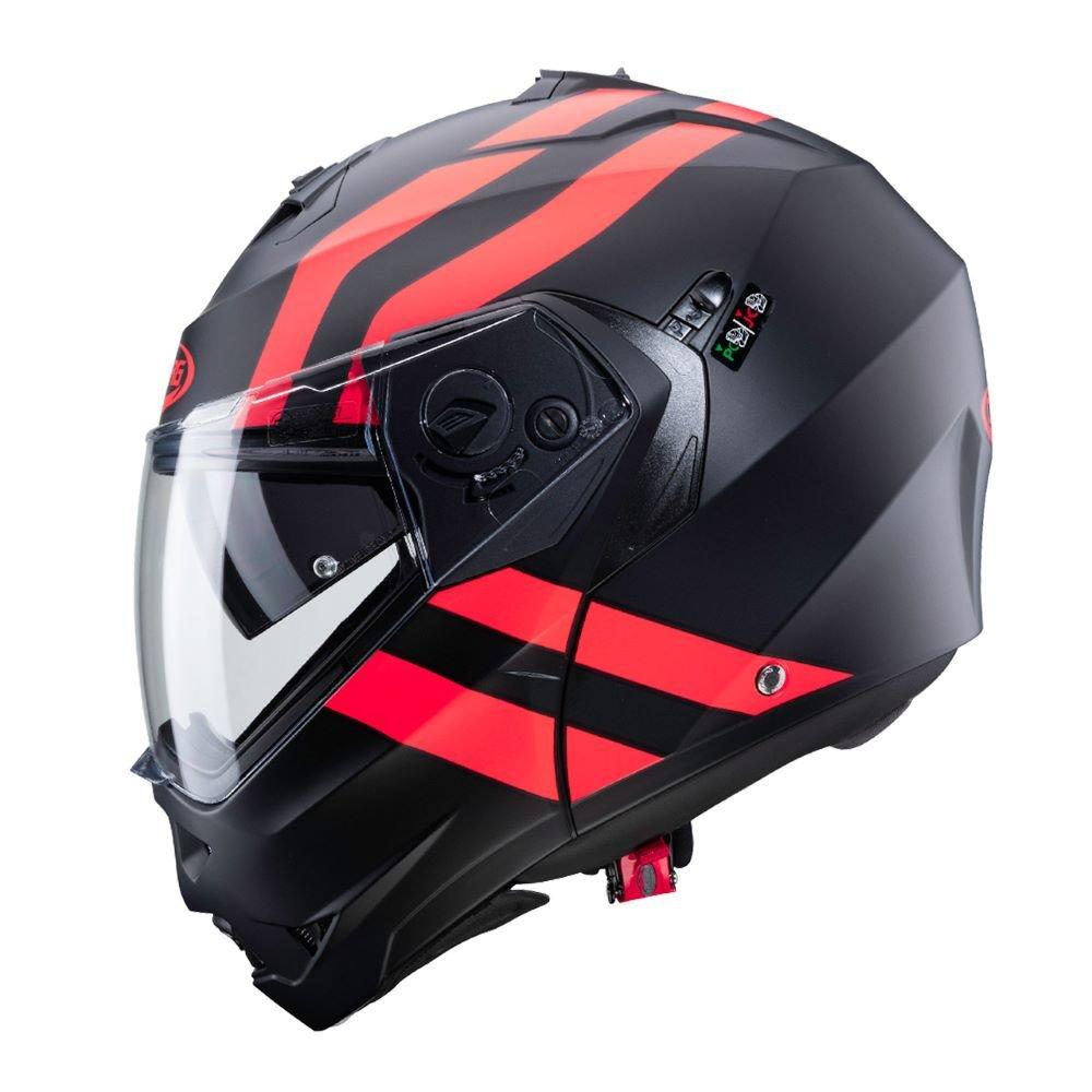 Caberg Duke II Super Legend Helmet Matt Black Red Size: S