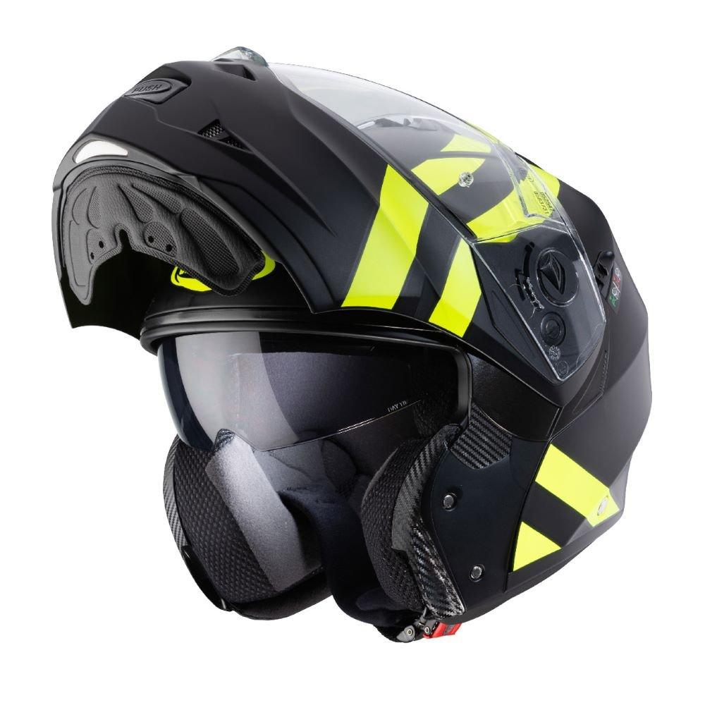 Duke II Super Legend Helmet Black Yellow Caberg Helmets
