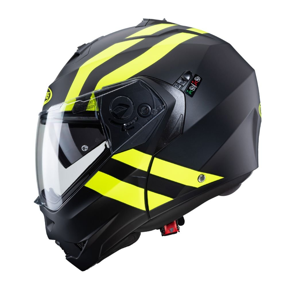 Caberg Duke II Super Legend Helmet Black Yellow Size: S