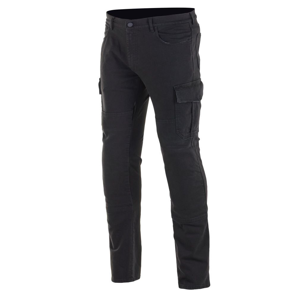Alpinestars Cargo Riding Pants Black Distressed Size: Mens UK - 28