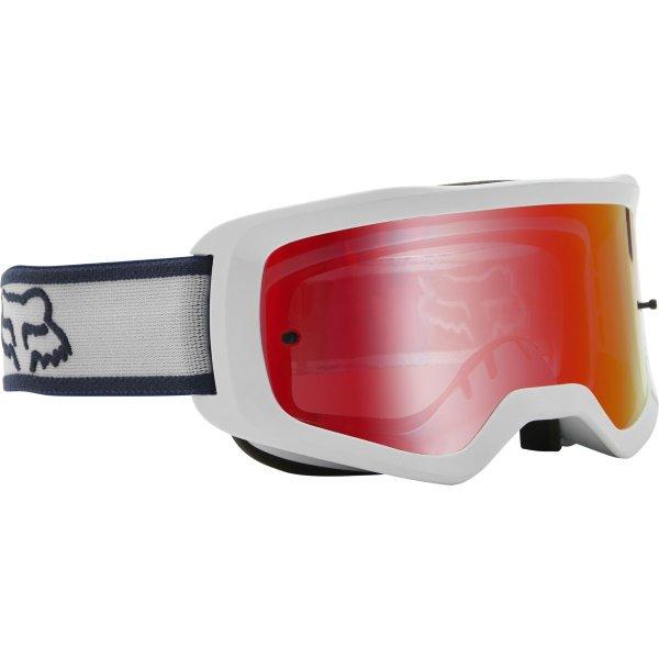 Fox Main Barren Goggles Spark White White