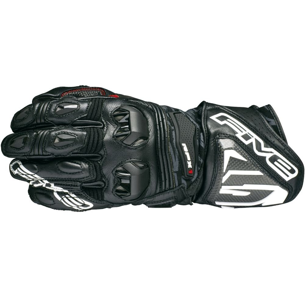 Five RFX1 Adult Gloves Black Mens - XS