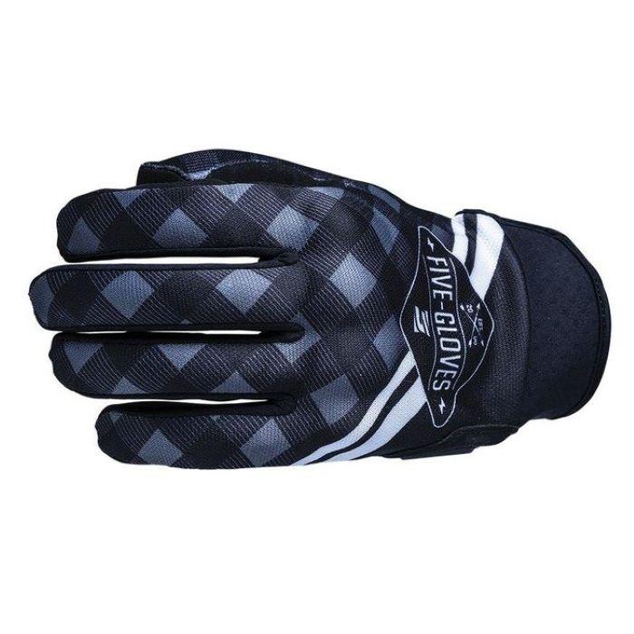 Globe Replica Adult Gloves Igsignia Check Black Five Gloves