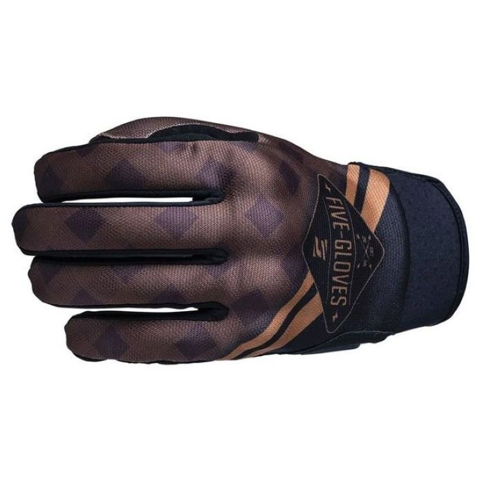 Five Globe Replica Adult Gloves Igsignia Check Brown Mens - S