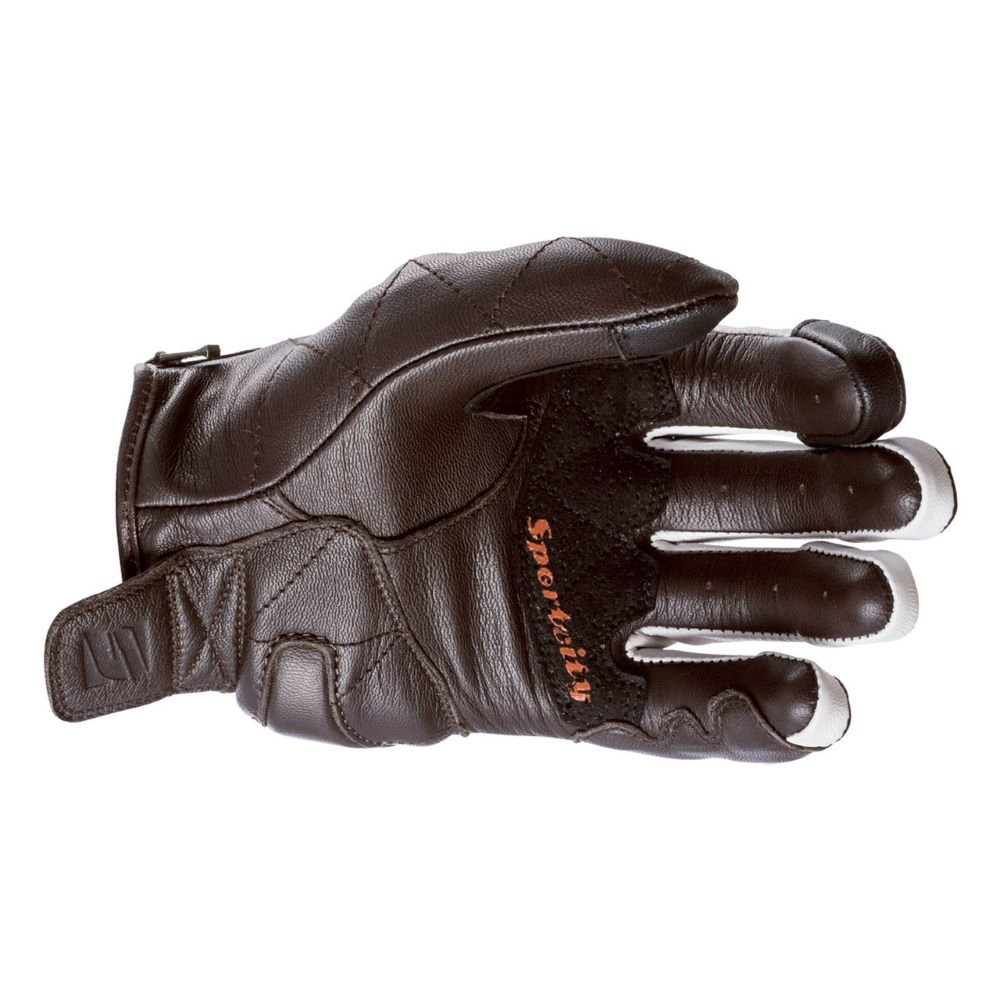 Five Sport City Womens Adult Gloves Brown White Ladies - L