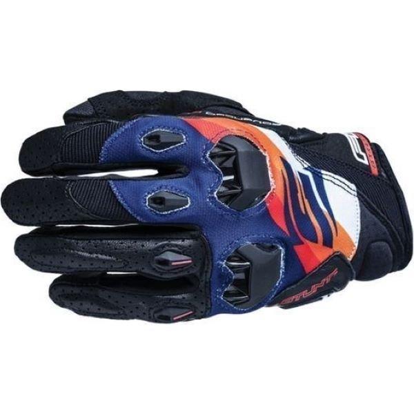 Five Stunt Evo Replica Adult Gloves Shade Orange Navy Size: Mens - L