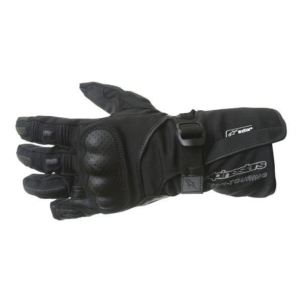 Alpinestars Apex Drystar Black Gloves Back